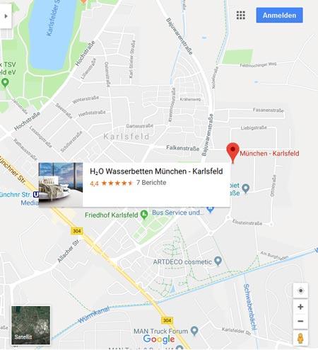 h2o Wasserbetten München auf facebook